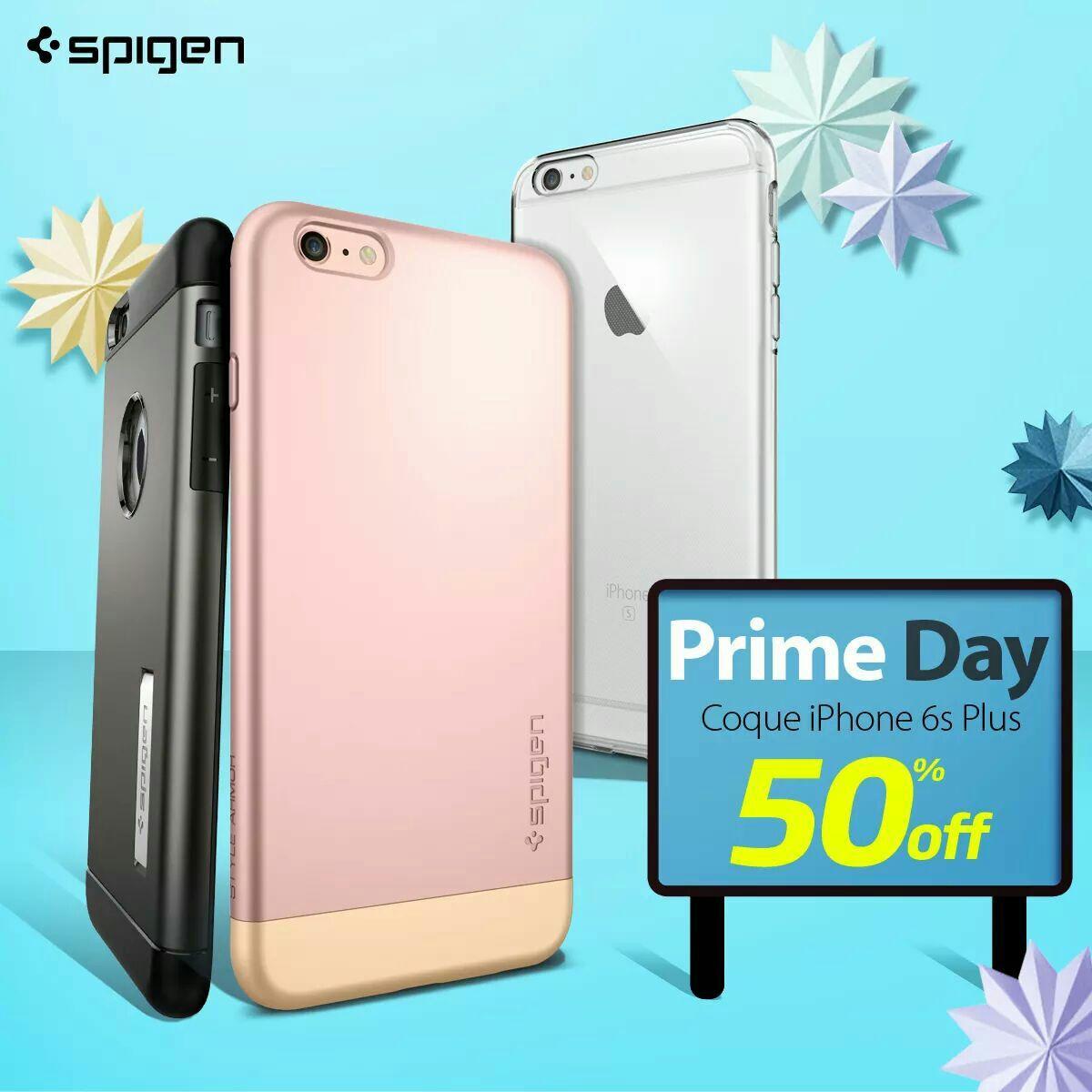 Sélections d'offres promotionnelles sur les accessoires et coques Spigen - Ex : 50% de réduction sur une sélection de coques pour iPhone 6 / 6S Plus