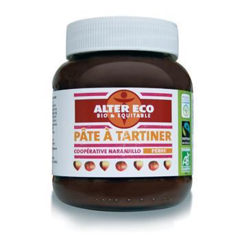 Pot de pâte à tartiner noisettes Alter Eco 400g (via Shopmium et BDR)