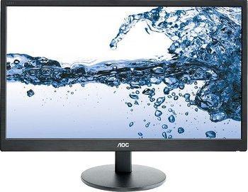 "Écran PC 21.5"" full HD AOC E2270SWHN (LED, 60 Hz, 5ms, noir)"