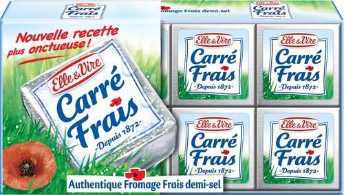 Lot de 2 boîtes de Elle & Vire Carré Frais (1.5€/kg)