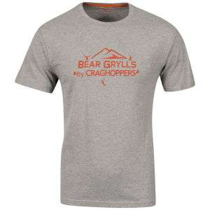 T-Shirt Craghoppers - Rouge, Gris ou Bleu