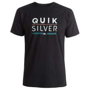 Sélection de tee-shirts QuickSilver en promotion - Ex : Classic Fully Stocked (M ou L, noir)