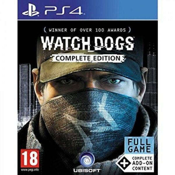 Jeu Watch Dogs sur PS4 - Complete Edition