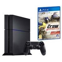 Sélection de Consoles Sony Playstation 4 en promotion - Ex : Console PS4 500Go + The Crew : Wild Run