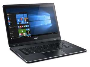 "PC Portable 14"" Acer Aspire R5-471T-522Y - Full HD, i5-6200U, RAM 8 Go, SSD 128 Go, Windows 10 (via ODR de 150€)"