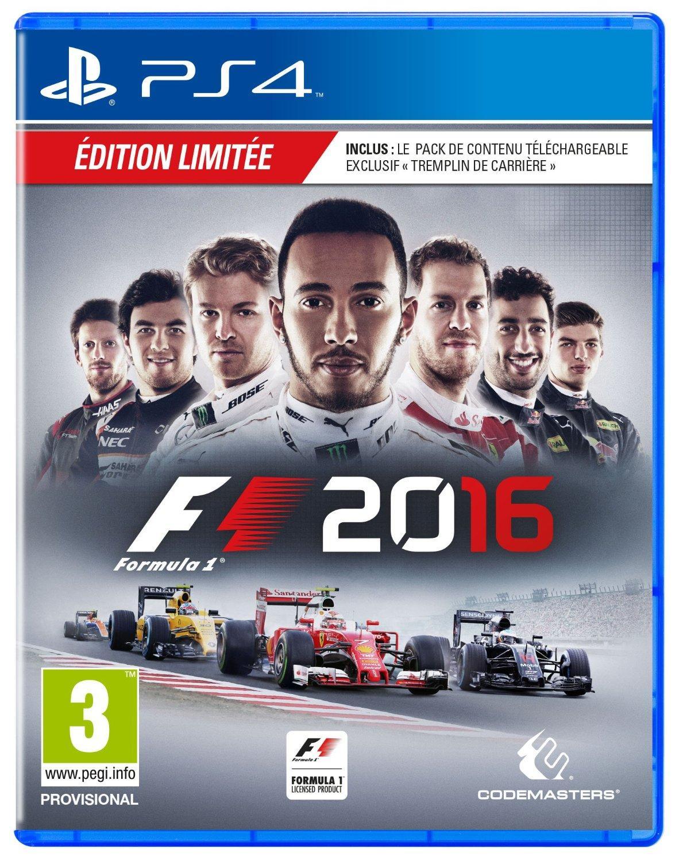Précommande : Jeu F1 2016 Edition Day One sur PS4