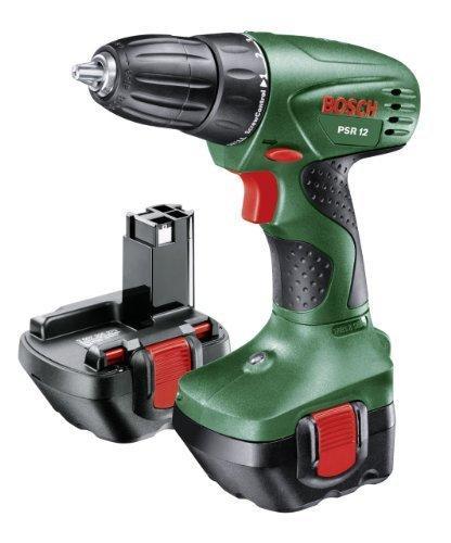 [Premium] Perceuse-visseuse Sans-fil Bosch PSR 12 + coffret + 2 batteries et chargeur