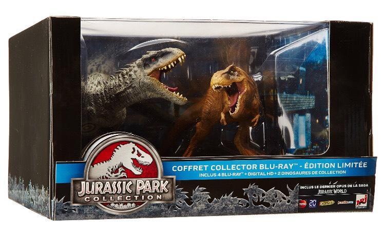 [Premium] Edition Collector Jurassic Park [Édition collector - 2 dinosaures] en Blu-ray