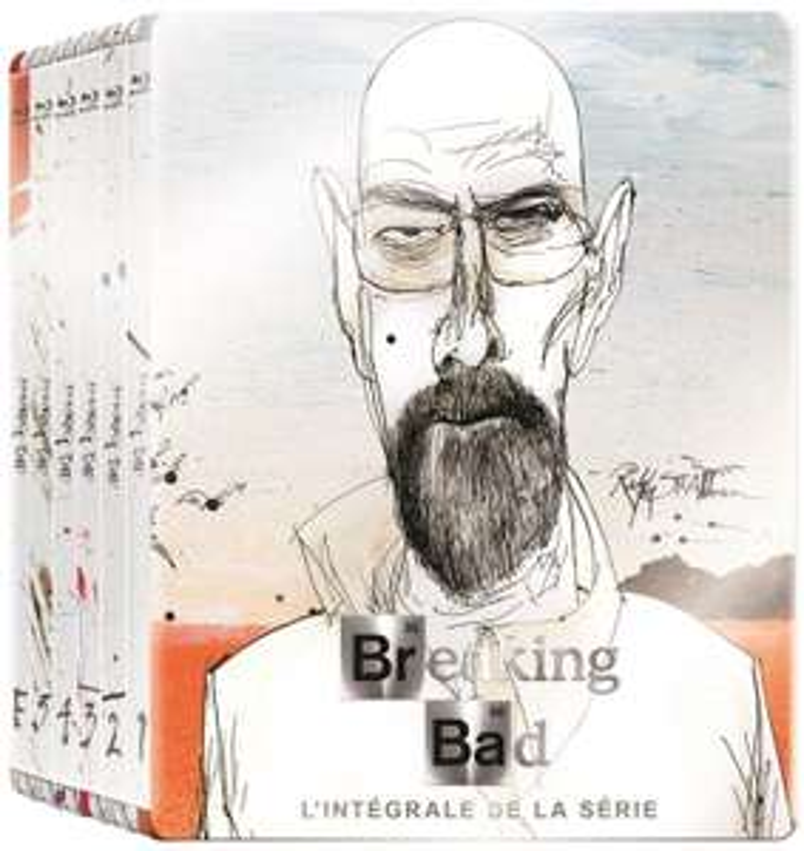[Premium] Coffret Blu-ray Steelbook Breaking Bad - L'intégrale