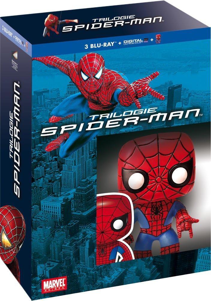 [Premium] Coffret Blu-ray Trilogie Spider-Man + Figurine Pop!