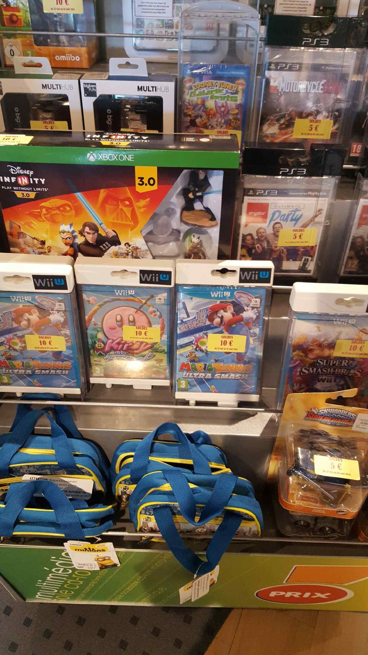 Sélection de jeux-vidéo en promotion - Ex : Kirby et Le Pinceau arc-en-ciel sur Wii U
