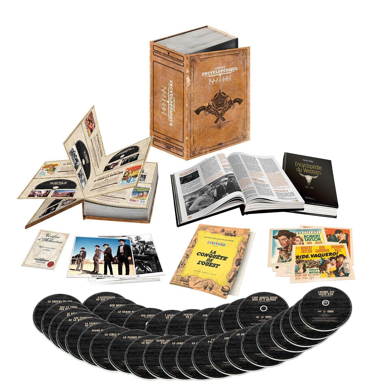 [Premium]  Coffret encyclopédique western vendu plus vite que son ombre, presque expiré  - édition limitée numérotée reliure luxe