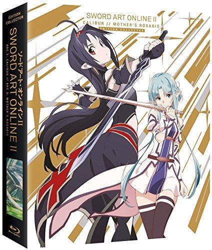 [Premium]  Coffret Blu-ray Collector Sword Art Online 2 - Arc 2 et 3 : Calibur & Mother's Rosario