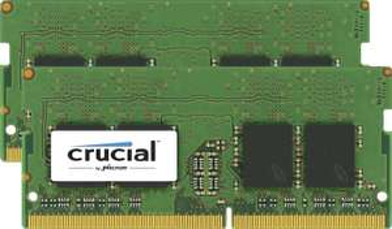 [Premium] Kit Crucial RAM 32 Go (2x 16Go) - DDR4, 2133 MT/s, PC4-17000, SODIMM 260-Pin