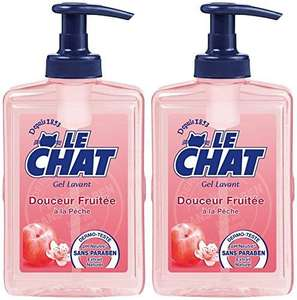 [Panier Plus] Lot de 2 Gels Lavants Le Chat - Douceur Fruitée (300 ml)
