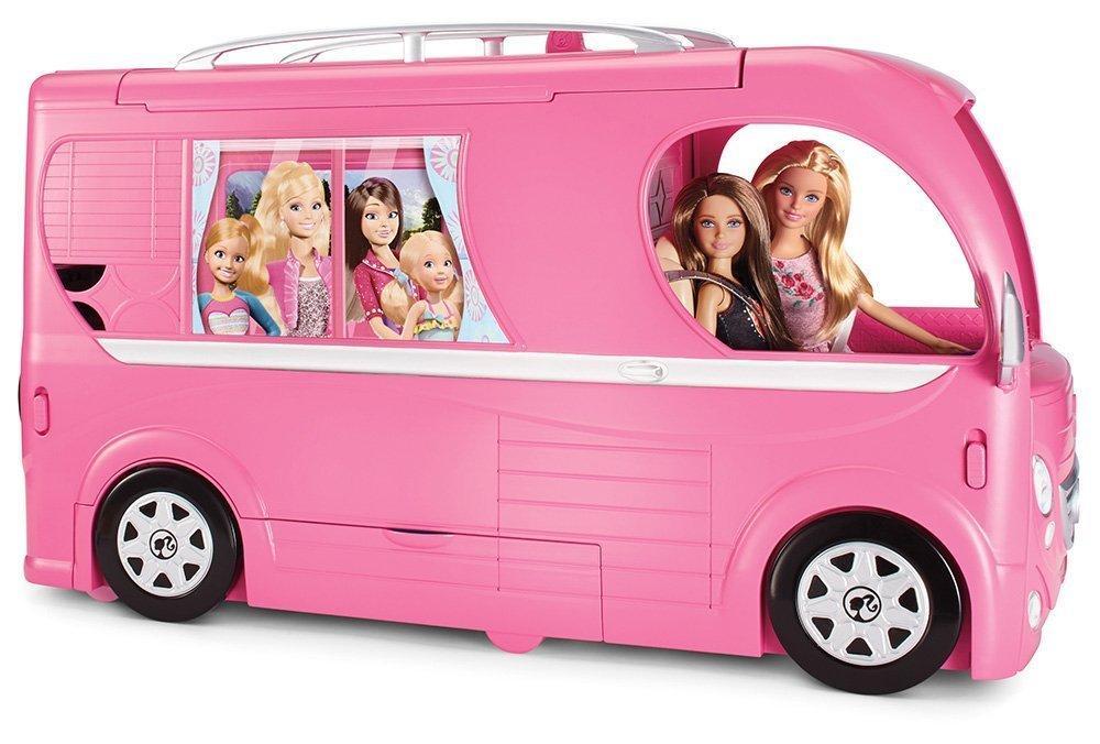 [Premium] Camping Car Duplex Barbie Cjt42