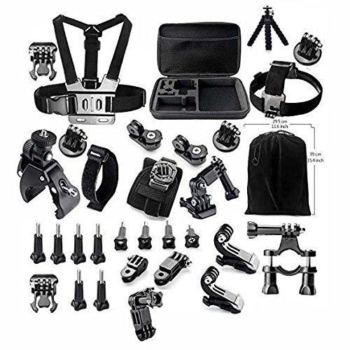 [Premium] Kit d'accessoires Gearmax pour caméra GoPro/Sony/JVC
