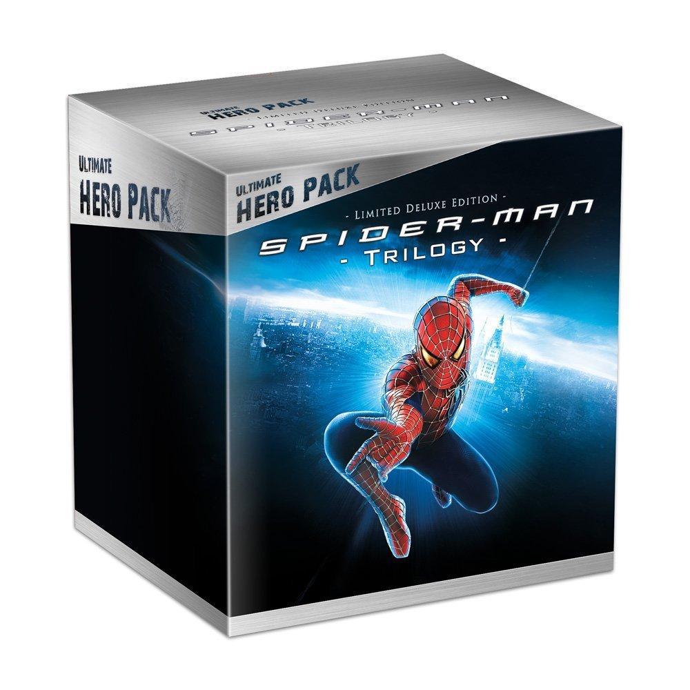 [Premium] Coffret Blu-ray collector Spider-Man - Trilogie + Figurine Venom