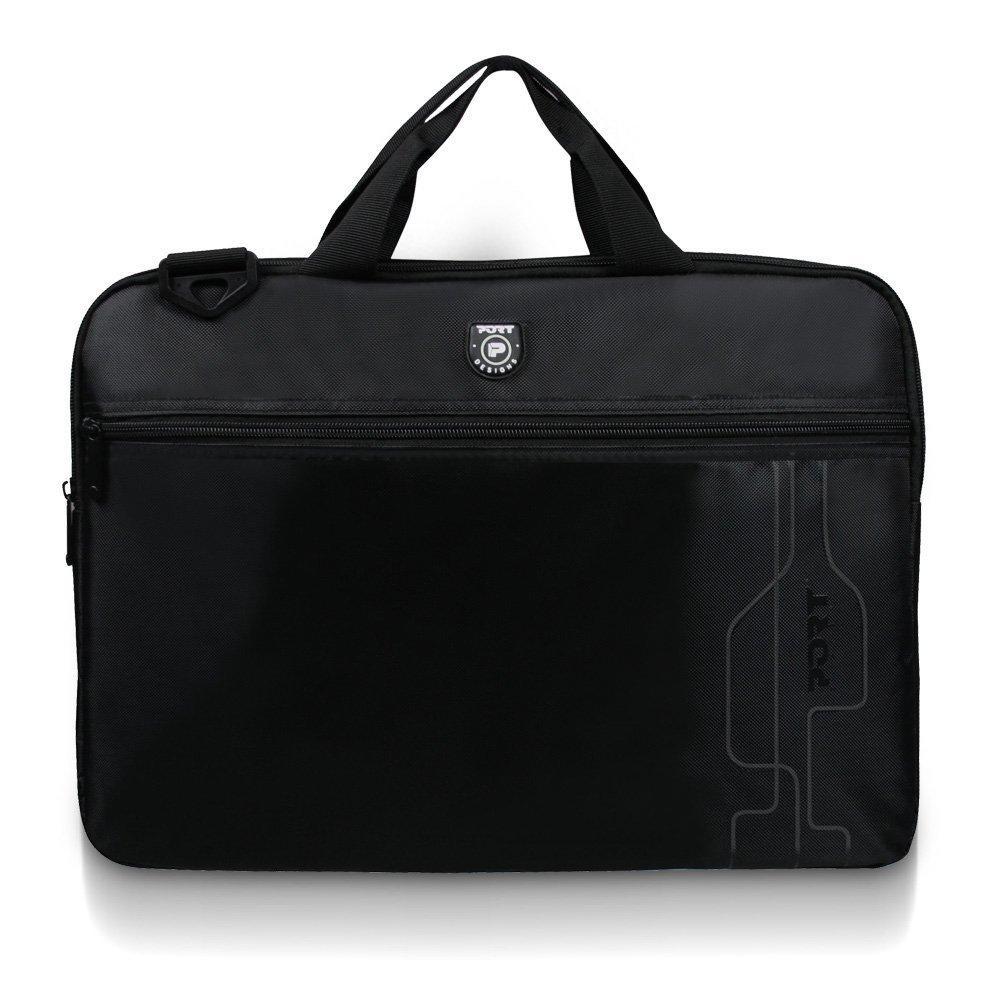 """[Premium] Sacoche pour Ordinateur Portable 17,3"""" Noir Port Designs Liberty"""
