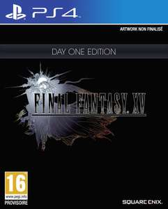 Final Fantasy XV - Day One Edition sur PS4 et Xbox One (import UK)