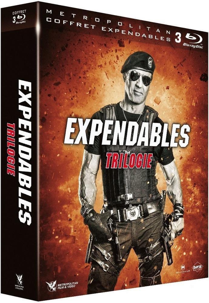[Premium] Coffret Blu-ray : Trilogie Expendables