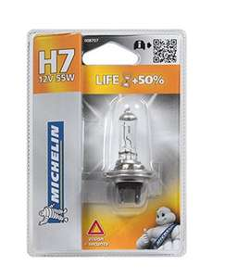 Une Ampoule H7 Michelin Life +50%