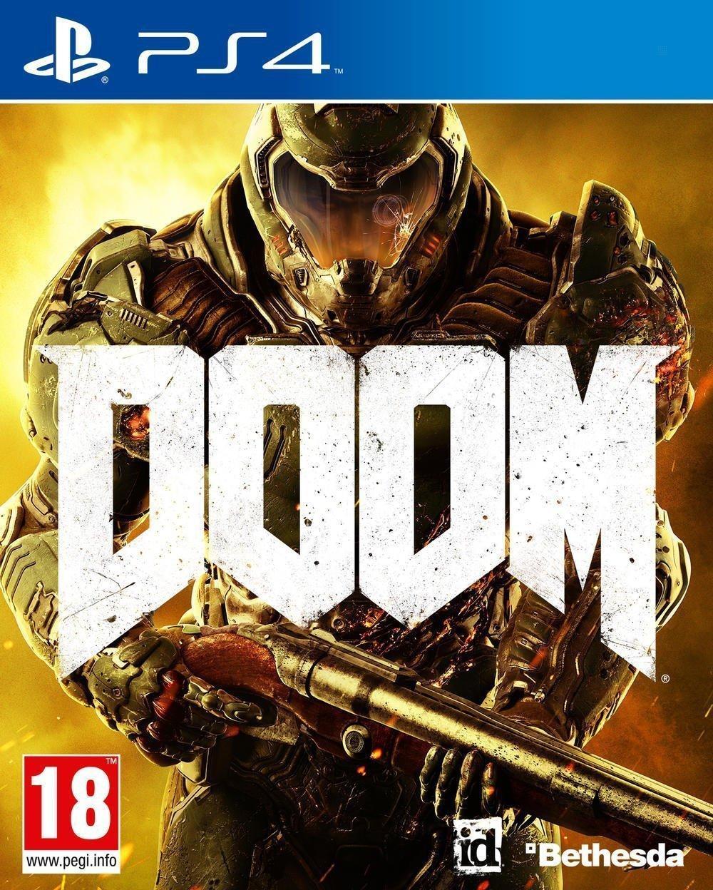 [Premium] Doom + Steelbook sur PC à 14.99€ et sur PS4
