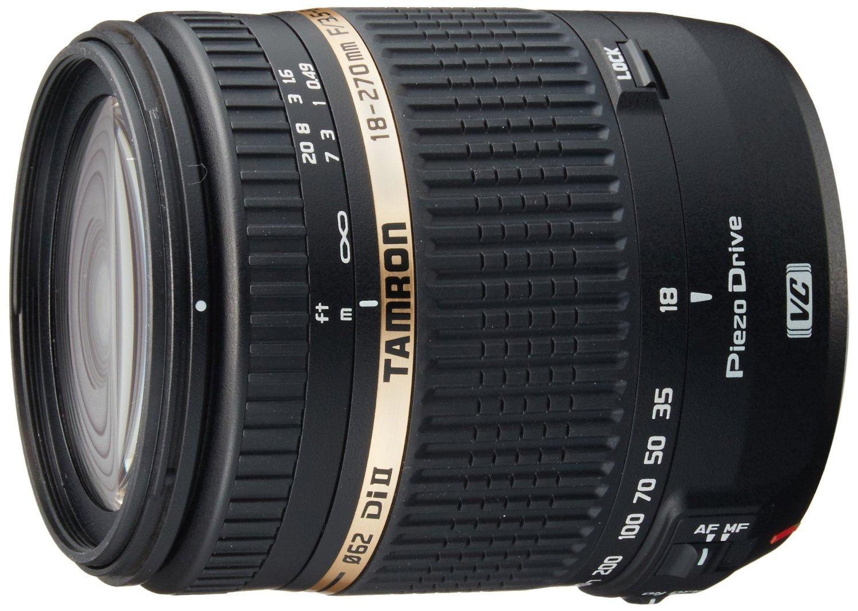 [Premium] Objectif Tamron  18-270mm  F/3,5-6,3 Di II VC PZD - Monture Canon / Nikon