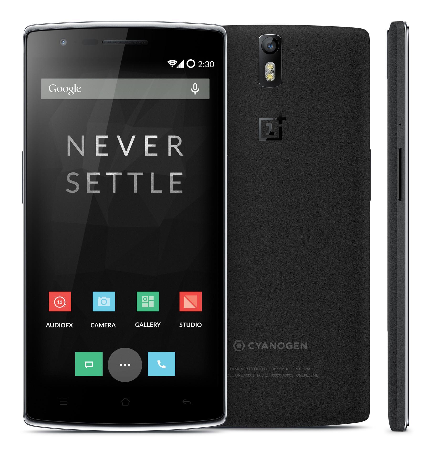 "Smartphone 5.5"" OnePlus One - RAM 3 Go, ROM 16 Go, Noir"