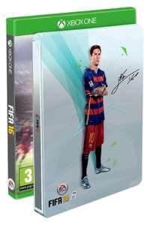 FIFA 16 + Steelbook sur Xbox One