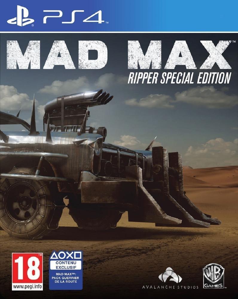 Mad Max - Édition Spéciale Ripper sur PS4