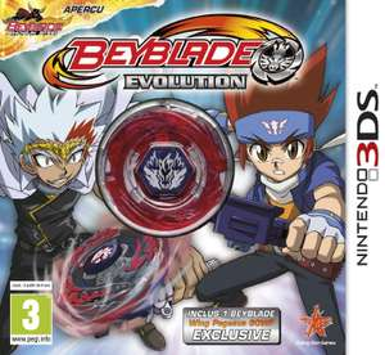 Sélection de jeux 3DS soldés - Ex : Beyblade Evolution