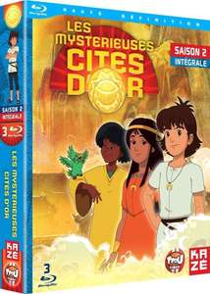[Premium] Les Mystérieuses Cités d'Or - Intégrale saison 2 en Blu-ray