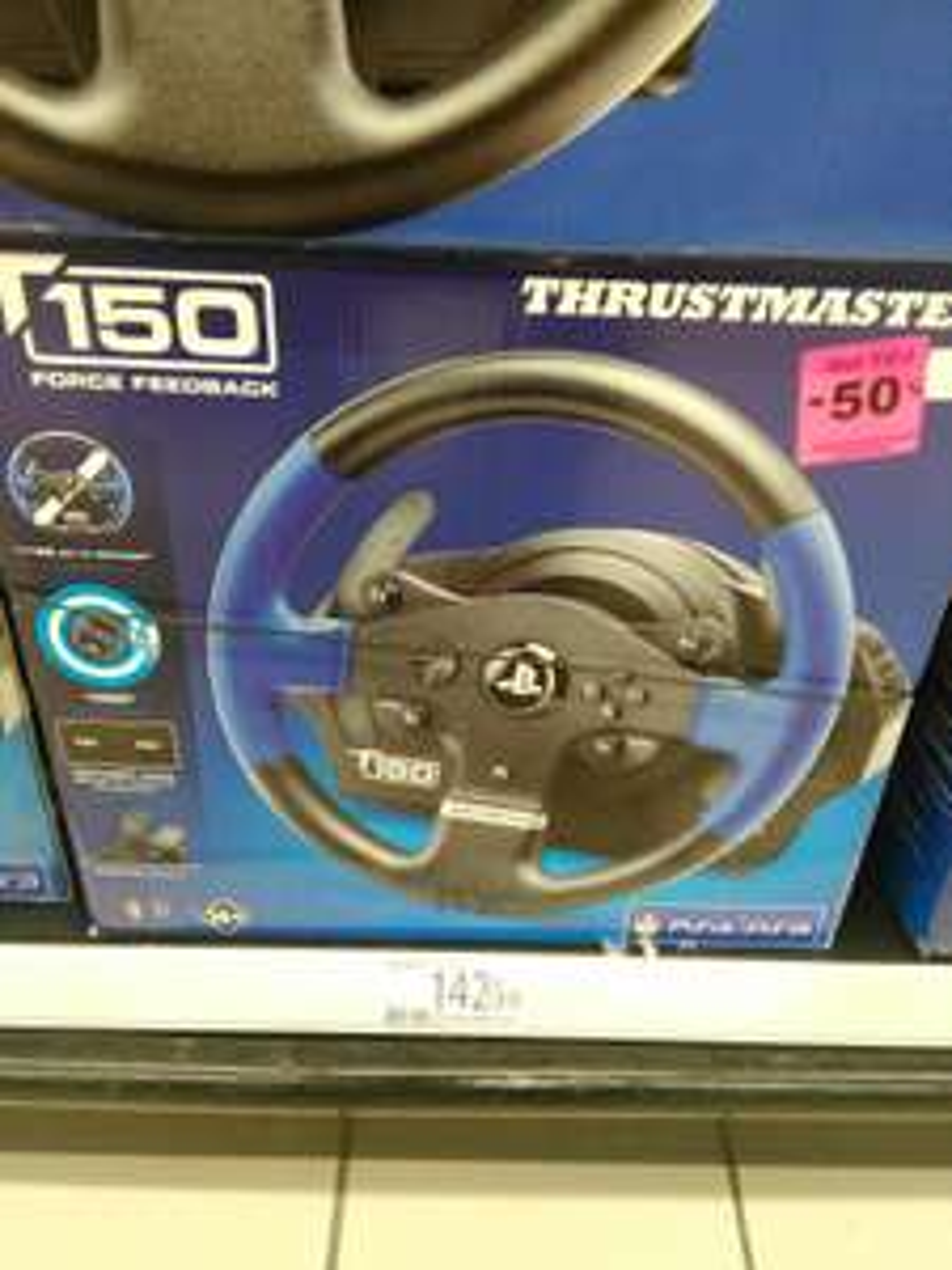 Volant Thrustmaster T150 RS pour PS4, PS3 et PC