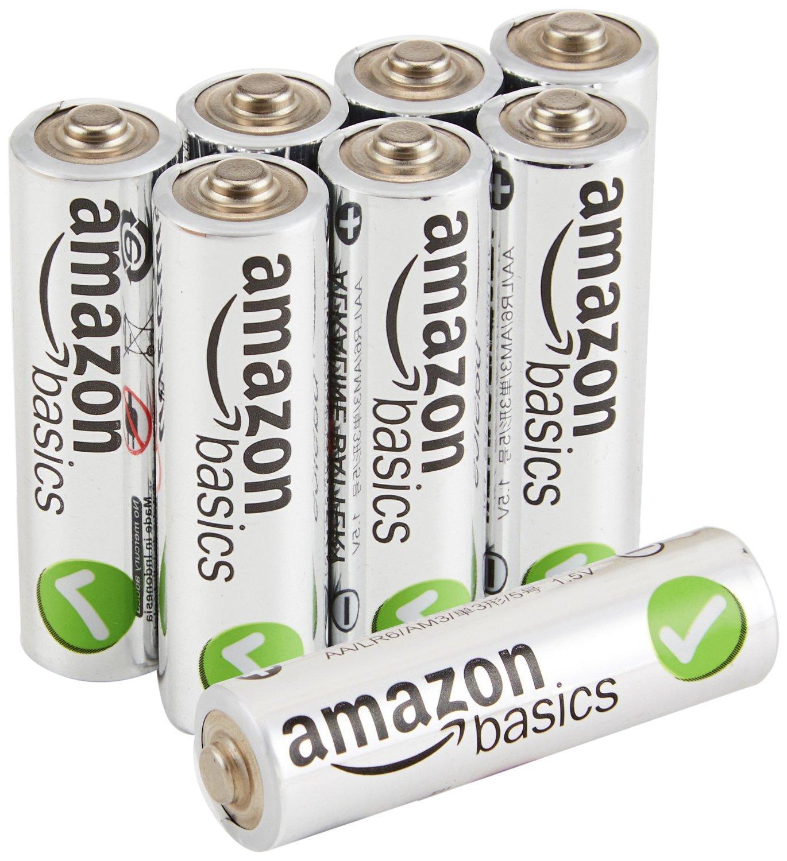 [Premium] Lot de de 8 piles alcalines  AmazonBasics  Type AA  ou AAA