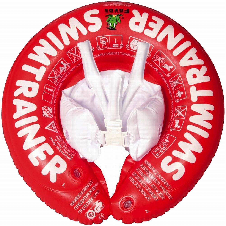 [Premium] Bouée Swimtrainer Freds Swim Academy Rouge