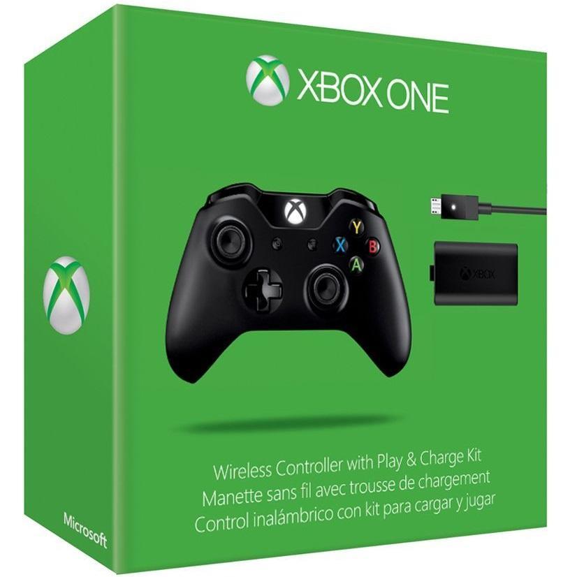 Manette sans fil pour Xbox One / PC + Play & Charge Kit