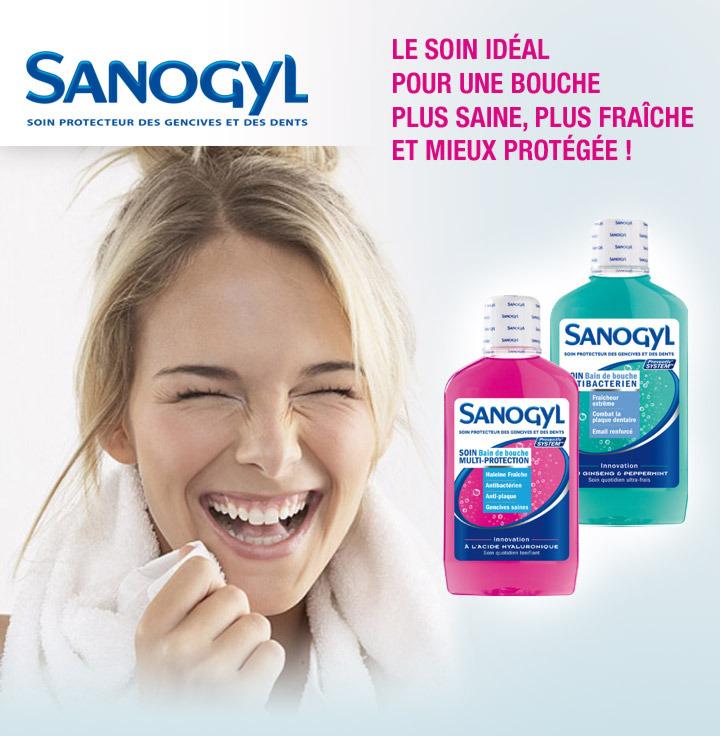 Sanogyl Bain de bouche