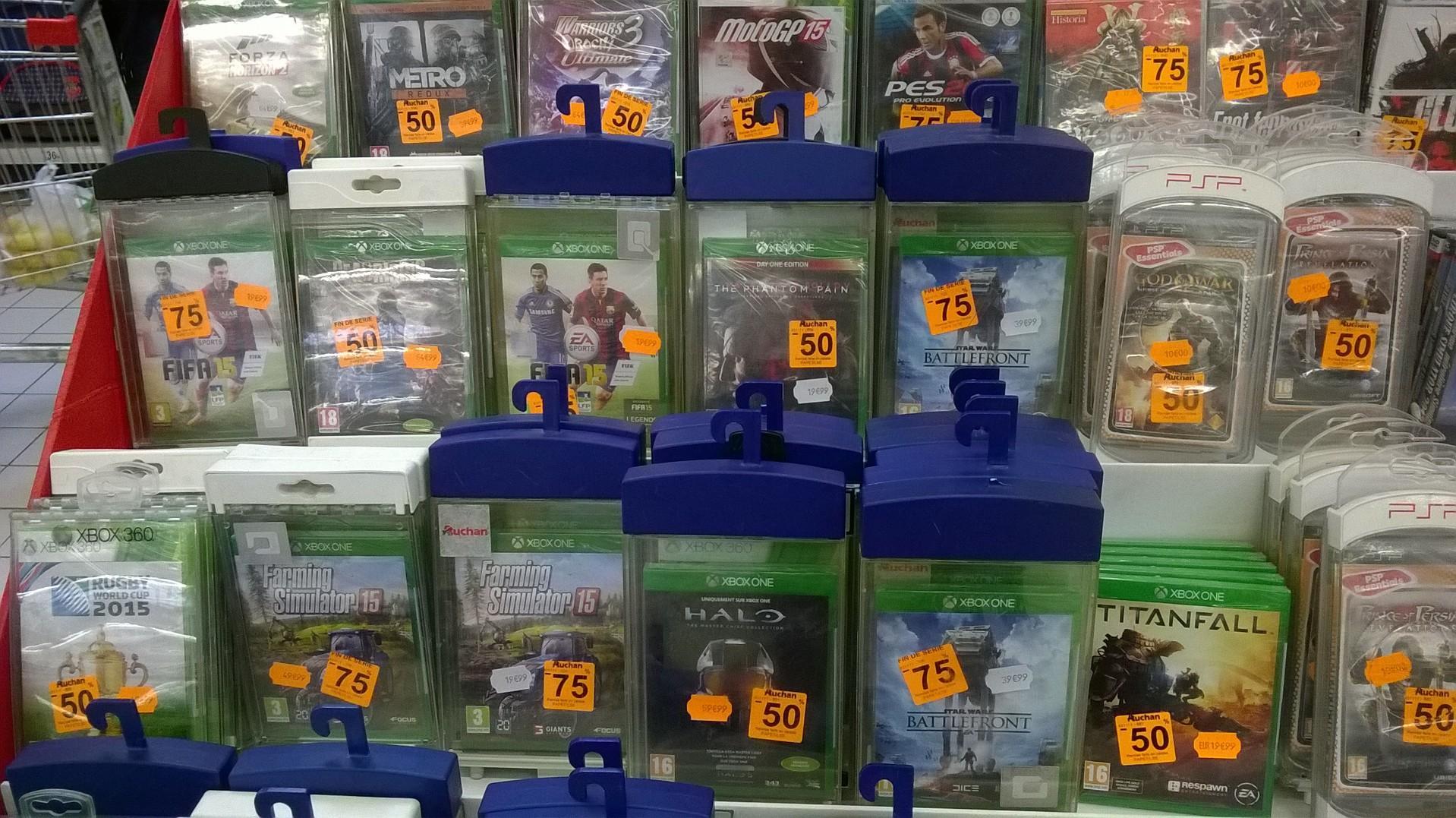 Sélection de jeux-vidéos PS4 et Xbox One en promo - Ex: Star Wars Battlefront sur Xbox One