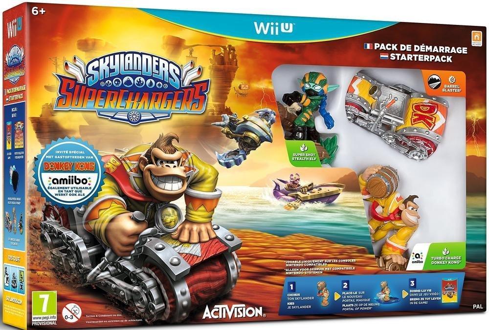 Sélection de jeux-vidéos en promo - Ex:  Skylanders Superchargers sur Wii U