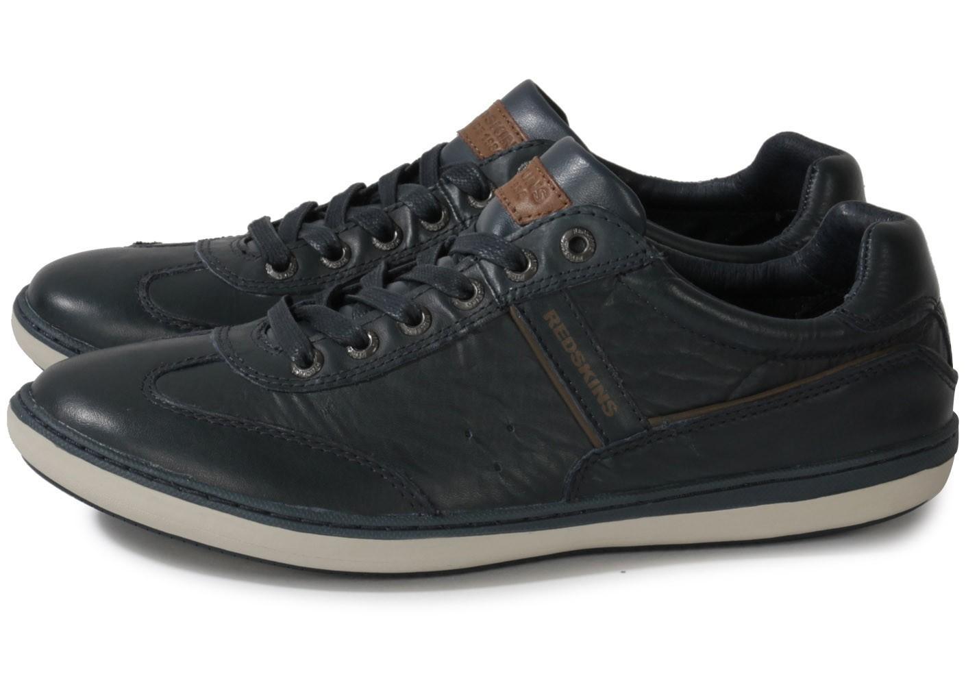 Chaussures Redskins Olbia - Cuir bleu, Tailles 40 , 41 , 43 et 44