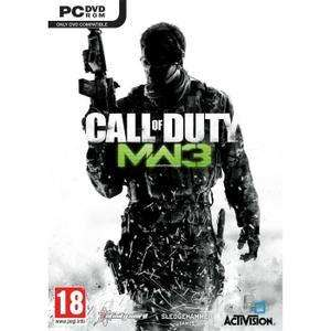 Sélection de jeux Call of Duty sur PC en promotion - Ex : Jeu Call of Duty Modern Warfare 3 sur PC