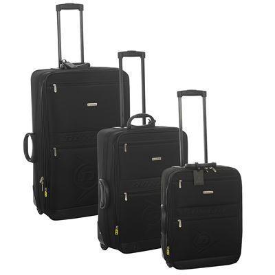 Lot de 3 valises Dunlop