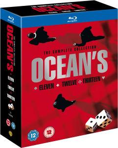La Trilogie Ocean's en Blu-ray