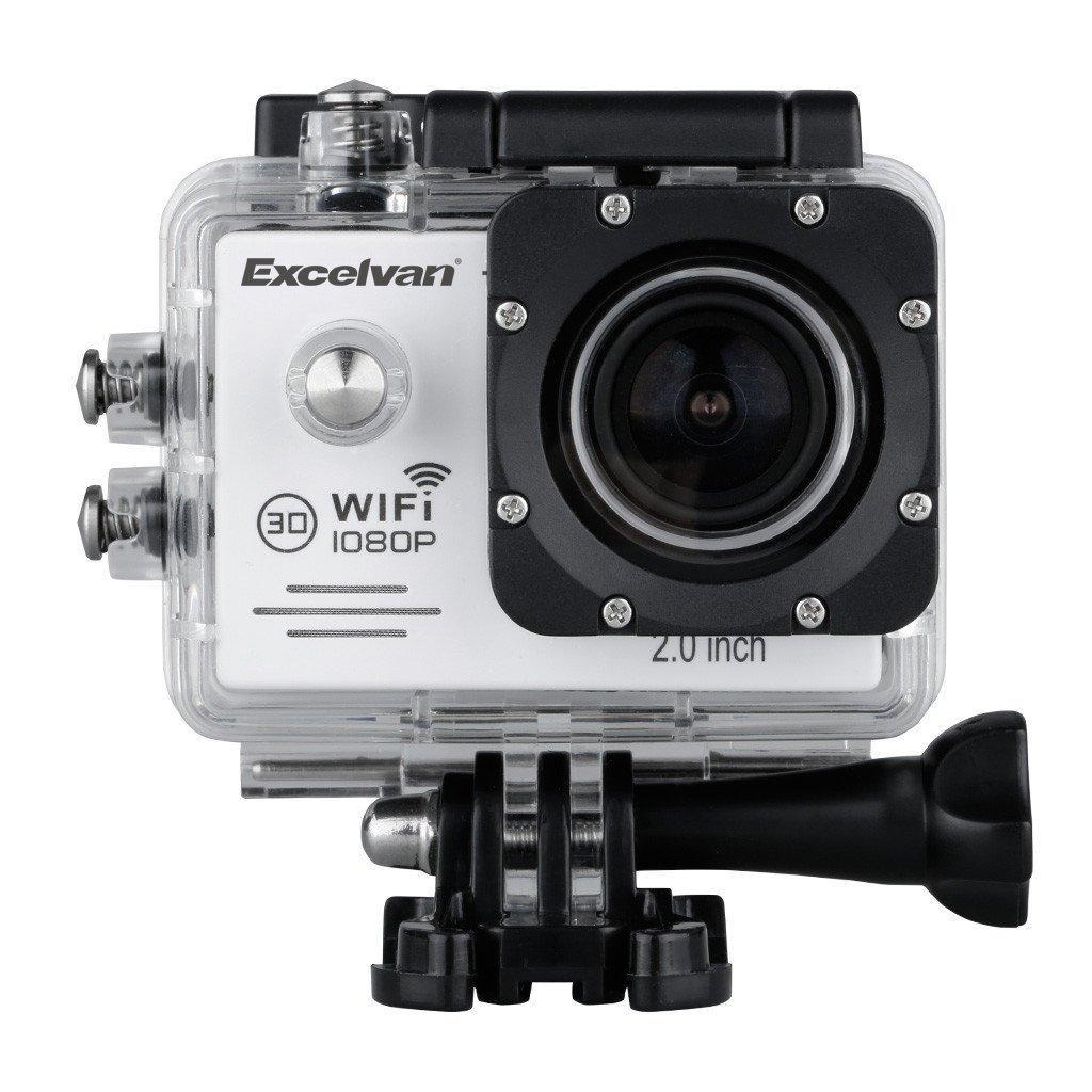 Caméra sportive Excelvan TC-J6 - étanche, Wi-Fi, 1080p, or