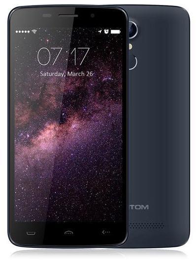 """Smartphone 5""""5 HomTom HT17 (1 Go de RAM, 8 Go, Noir)"""