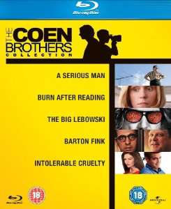 Coffret Blu-ray The Coen Brothers Collection (5 Films) / Frais de port inclus