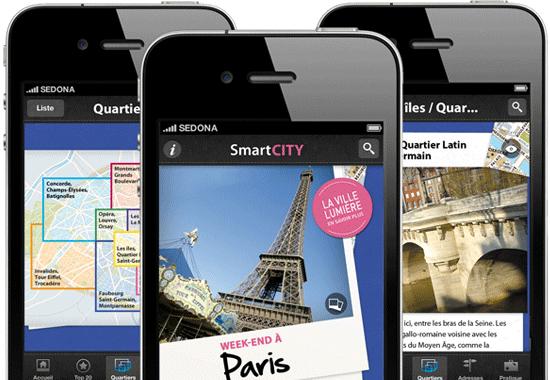 Les Guides Gallimard Smartcity Barcelone, Rome, New York et Lisbonne gratuits