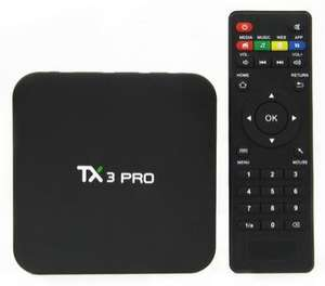 Box Android TX3 Pro - Amlogic S905X, Android 6.0