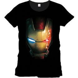 Sélection de T-Shirts et accessoires Geeks en promotion - Ex : T-Shirt Marvel Iron man